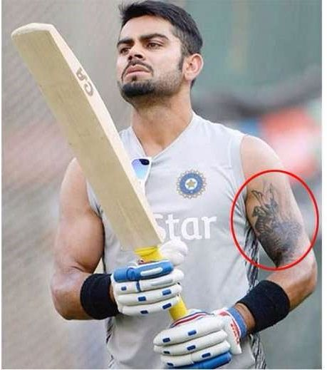 Virat-Kohli-Shoulder-tattoo