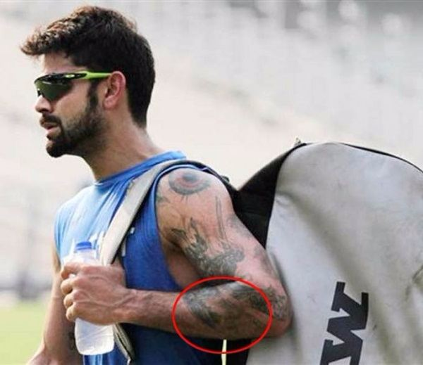 virat kohli s 8 tattoos their meanings body art guru