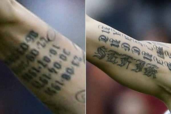 Zlatan Ibrahimovićs 9 Tattoos Their Meanings Body Art Guru
