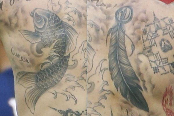 Zlatan Ibrahimović -tattoo