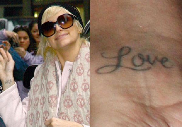 ashlee-simpson-love-wrist-tattoo