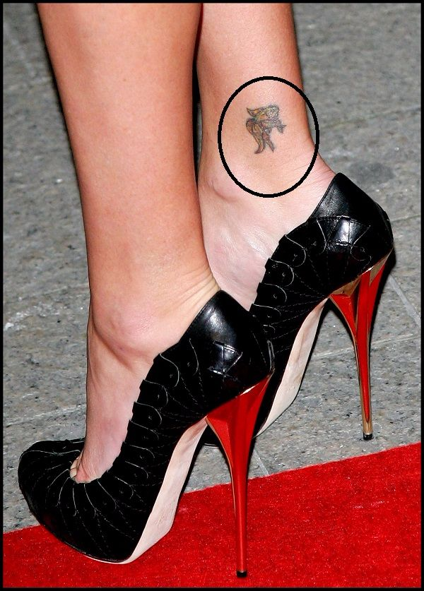 charlize-theron-ankle-tattoo