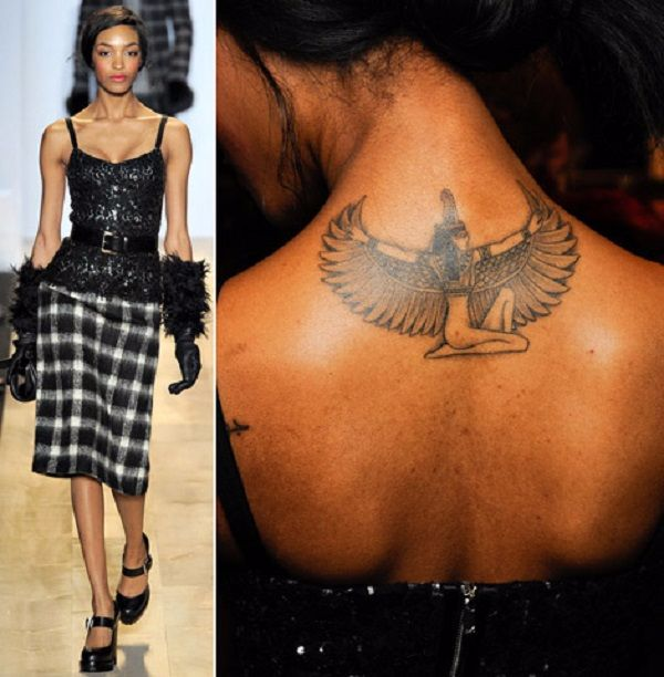 Jourdan Dunn's 9 Tattoos & Their Meanings