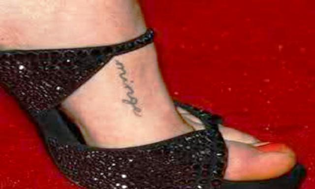 Amanda Seyfried Foot Tattoo