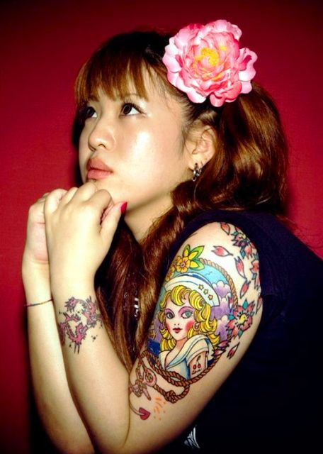 Beauty Girl Tattoo