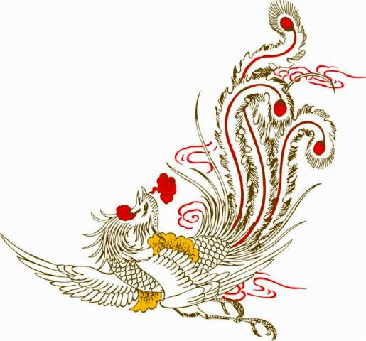 Chinese Phoenix Tattoo