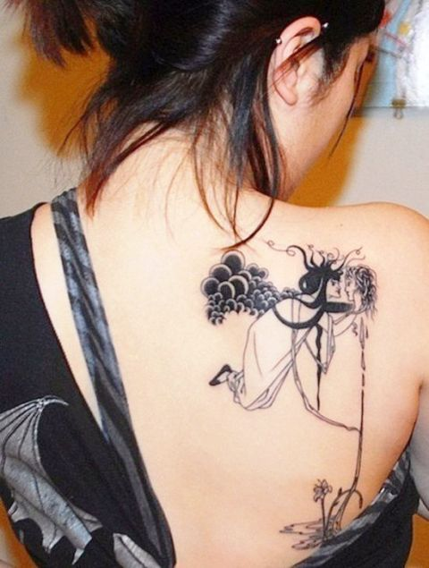 cupid tattoos pictures