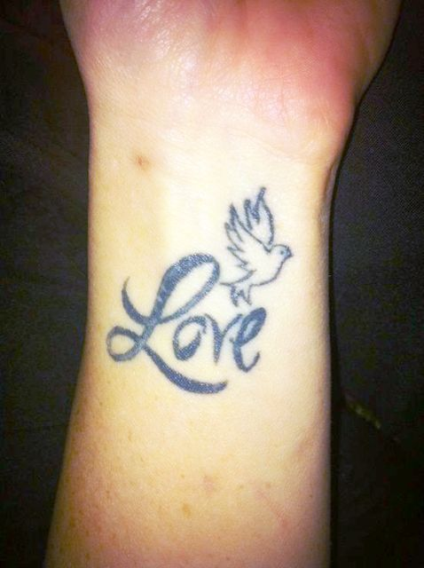 Dove Love Tattoo