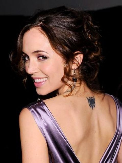 Eliza Dushku tattoos