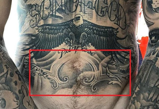 Justin Bieber-Filigree-Tattoo