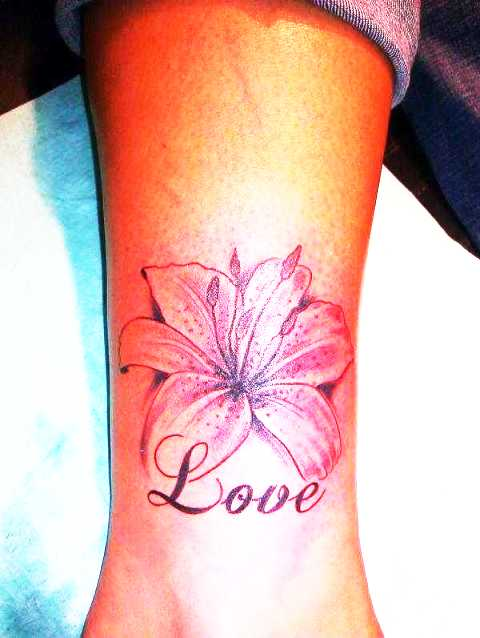 Lilly's Love Tattoo