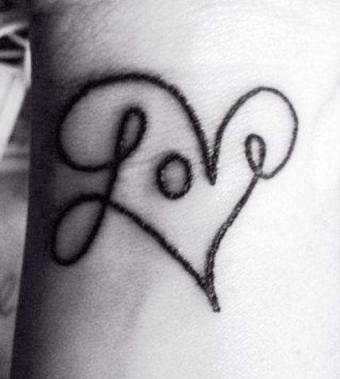 Love Enigma Tattoo