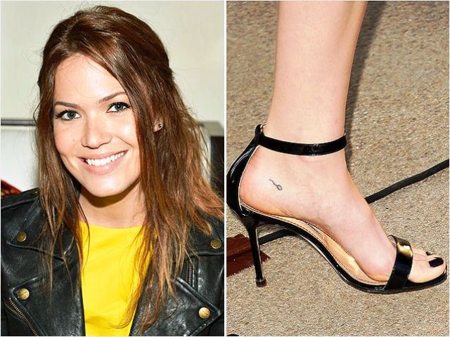 Mandy Moore Tattoo