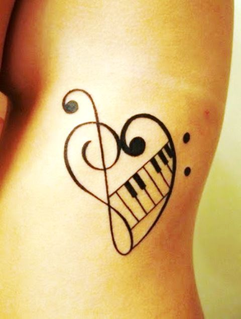 Music Love Tattoo