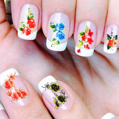 Nail Art Decals And Stickers