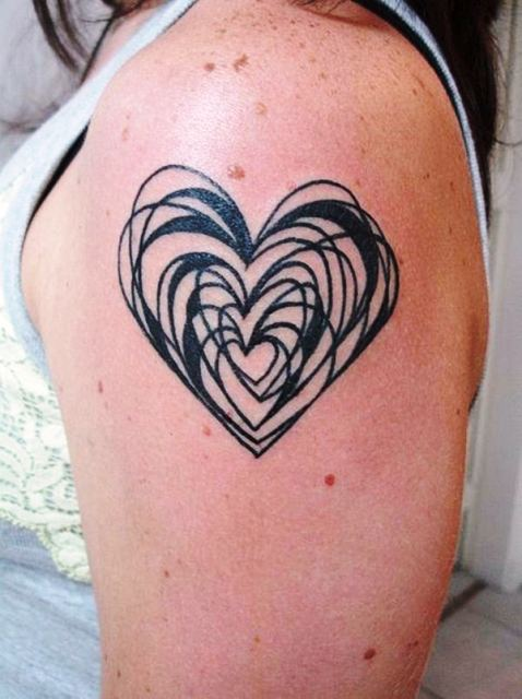 25 Amazing Love Tattoos With Meanings Body Art Guru
