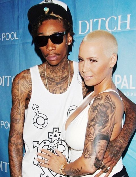 Wiz Khalifa Amber Rose Tattoo