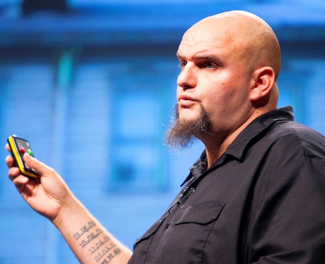 John Fetterman Dates tattoo