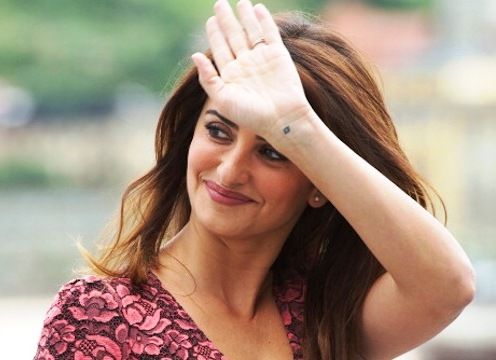 Penélope Cruz Wrist Tattoo