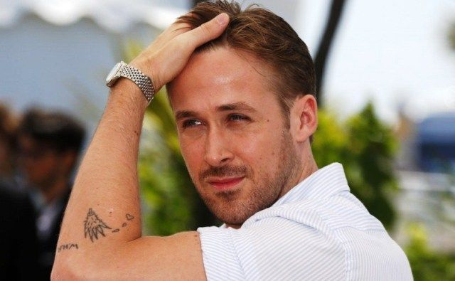 Ryan Gosling Cactus Tattoo