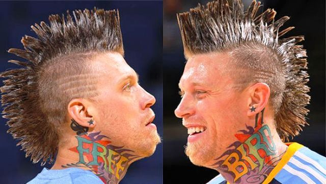 Chris Andersen Neck Tattoo
