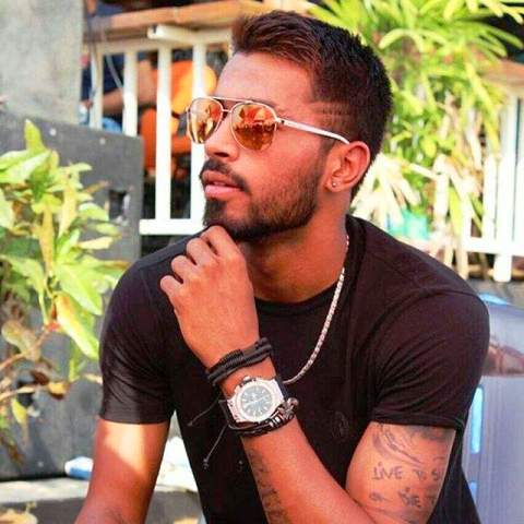 Hardik Pandya Left Arm Tattoo