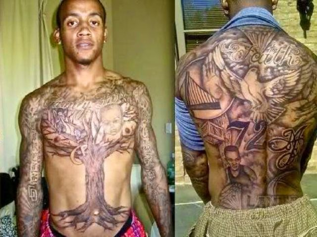Monta Ellis Tattoos