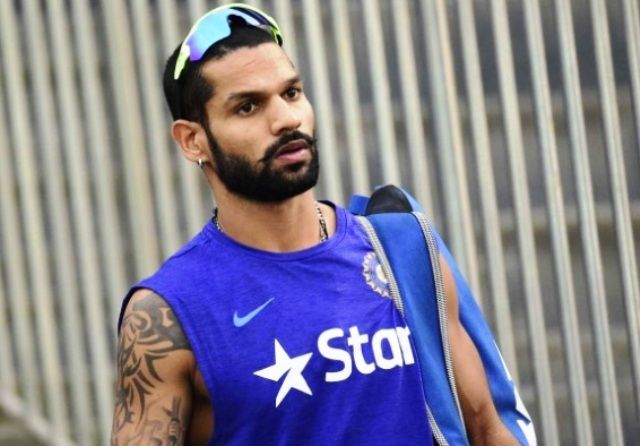 Shikhar Dhawan Tattoos