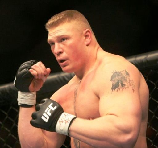 Brock Lesnar Left Shoulder Tattoo