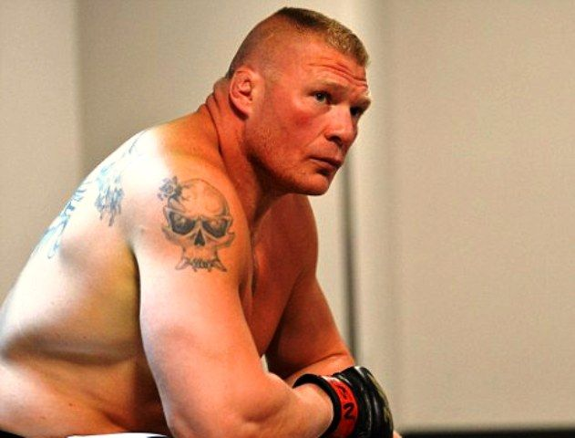 Brock Lesnar Right Shoulder Tattoo