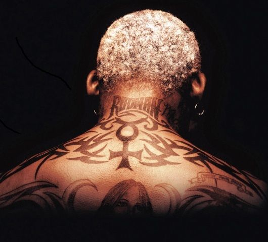 Dennis Rodman Neck Tattoo