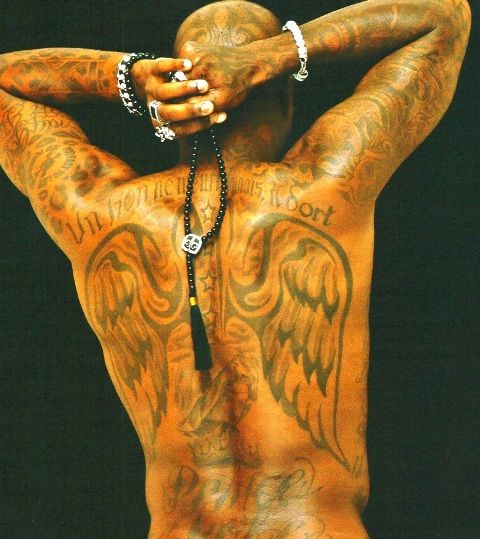 Djibril Cisse Tattoos3