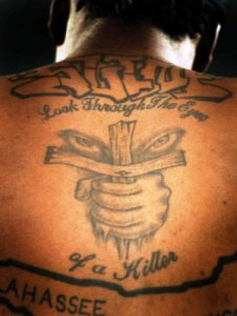 Marquis Daniels Back Tattoos2