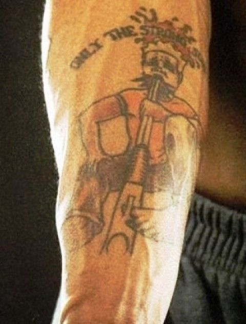 Marquis Daniels Shotgun Tattoo