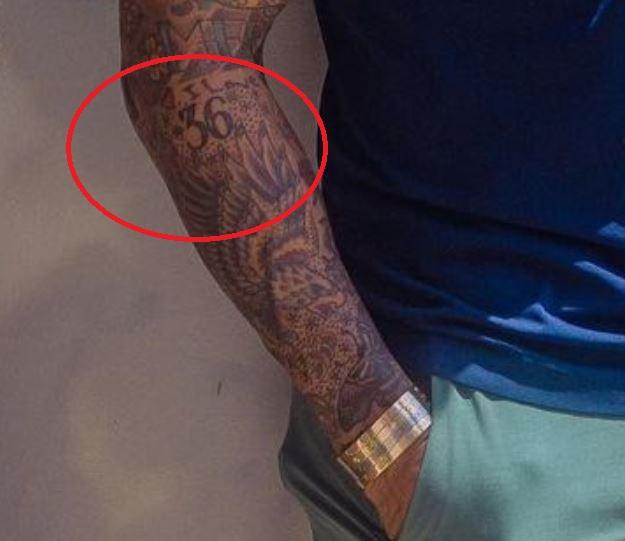 Tim 36 tattoo