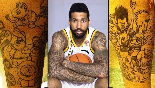 Wilson Chandler Cartoons Tattoos