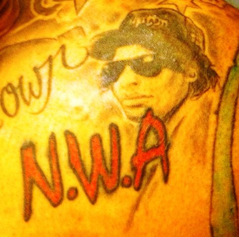 Wilson Chandler Eazy-E Tattoo