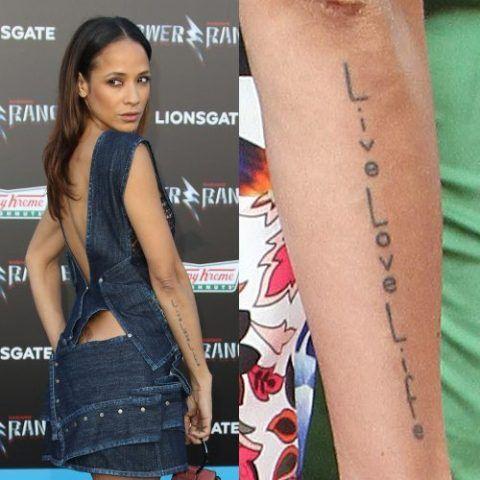Dania Ramirez Tattoo