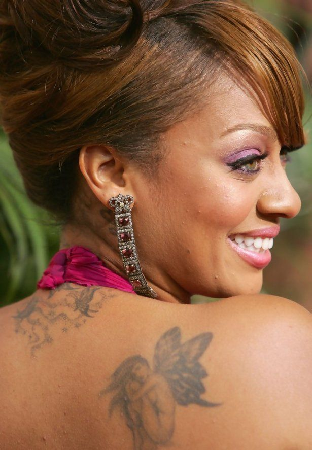 La La Anthony Fairy Tattoo