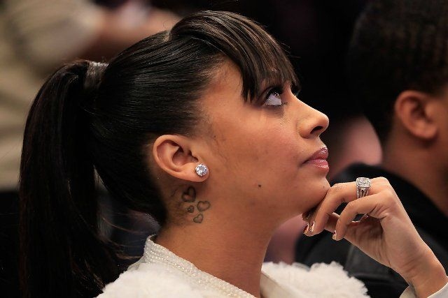 La La Anthony Heart Tattoos