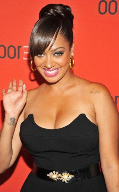La La Anthony Wrist Tattoo