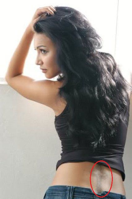 Naya Rivera Cross Tattoo