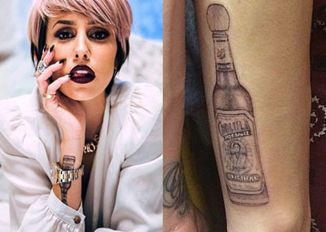 dev cholula hot sauce forearm tattoo steal her style - 640×456