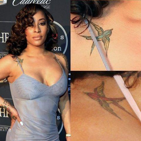Hazel E Birds Tattoo