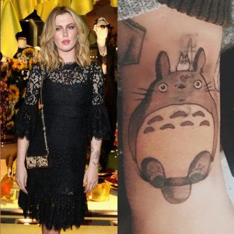 Ireland Totoro Tattoo
