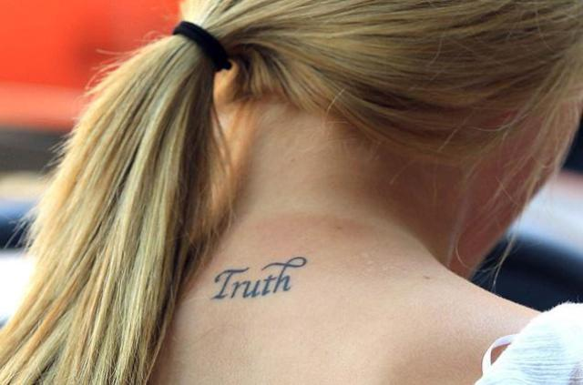 Ireland Truth Tattoo