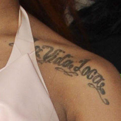 Karis Anderson La Vida Loca Tattoo