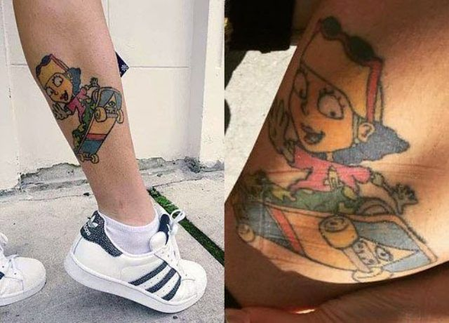 Reggie Rocket Tattoo