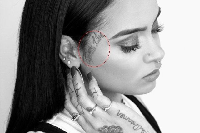 Side Of Face Tattoos: Kehlani's 20 Tattoos & Their Meanings
