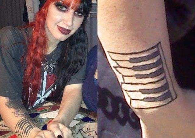 Ash Costello Crooked Piano Tattoo